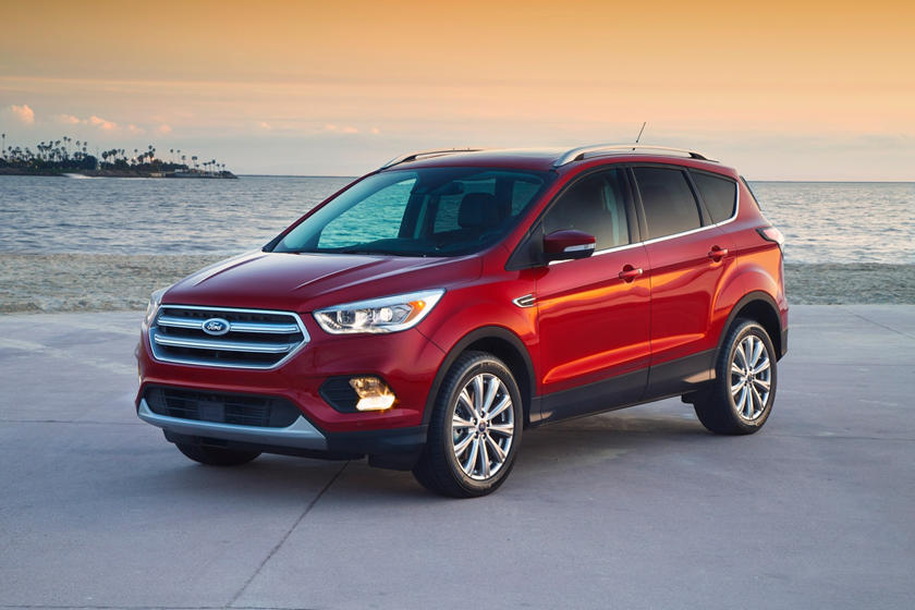 2018 Ford Escape Review Trims Specs And Price Carbuzz
