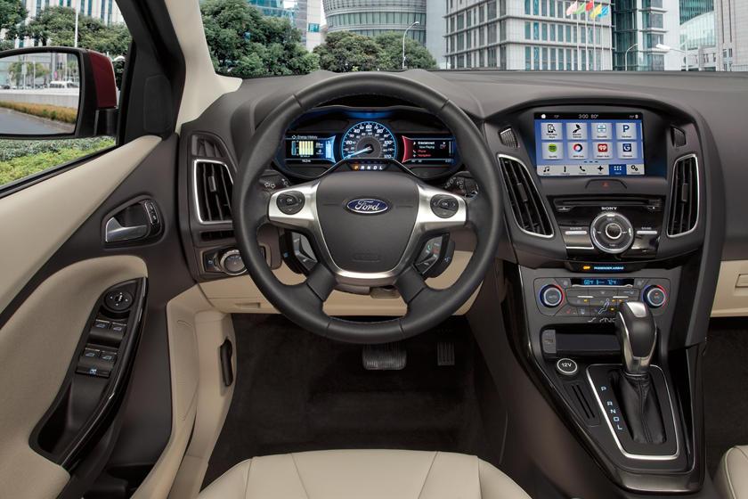 2018 Ford Focus Electric Interior Photos Carbuzz