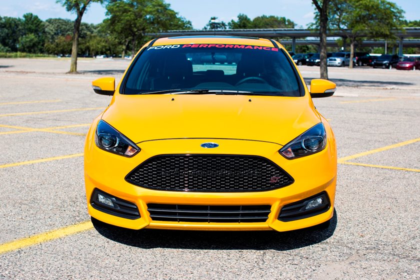 2018 Ford Focus St Review Trims Specs Price New Interior