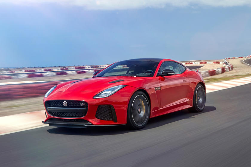F Type Coupe >> 2018 Jaguar F Type Svr Coupe Review Trims Specs And Price Carbuzz