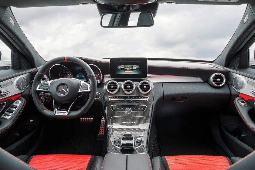 2018 Mercedes Amg C63 Sedan Interior Photos Carbuzz