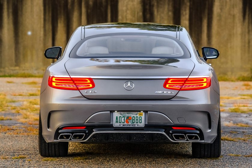 2018 Mercedes Amg S63 Coupe Review Trims Specs And Price Carbuzz