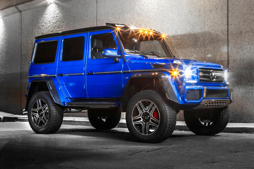 G Wagon 4x4 Price >> 2018 Mercedes Benz G Class G550 4x4 Squared Review Trims