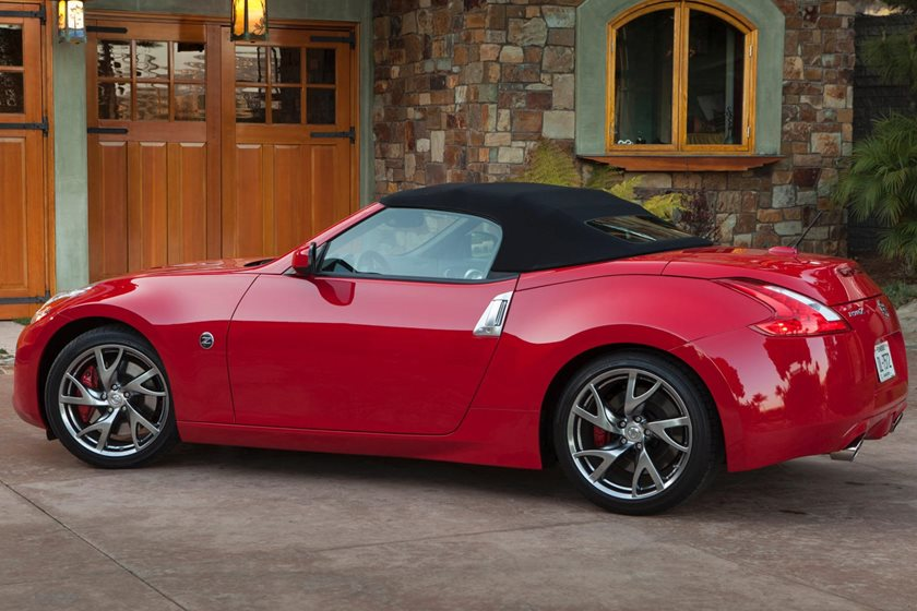 Nissan 370Z Convertible >> 2018 Nissan 370z Roadster Review Trims Specs And Price Carbuzz