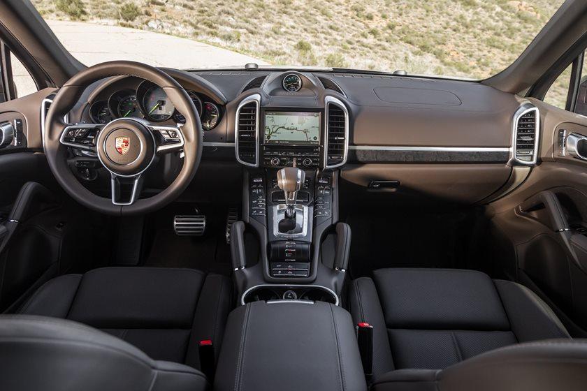 2018 Porsche Cayenne E Hybrid Interior Photos Carbuzz