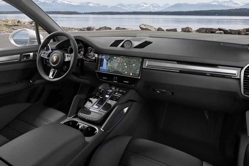 2018 Porsche Cayenne Turbo Interior Photos Carbuzz