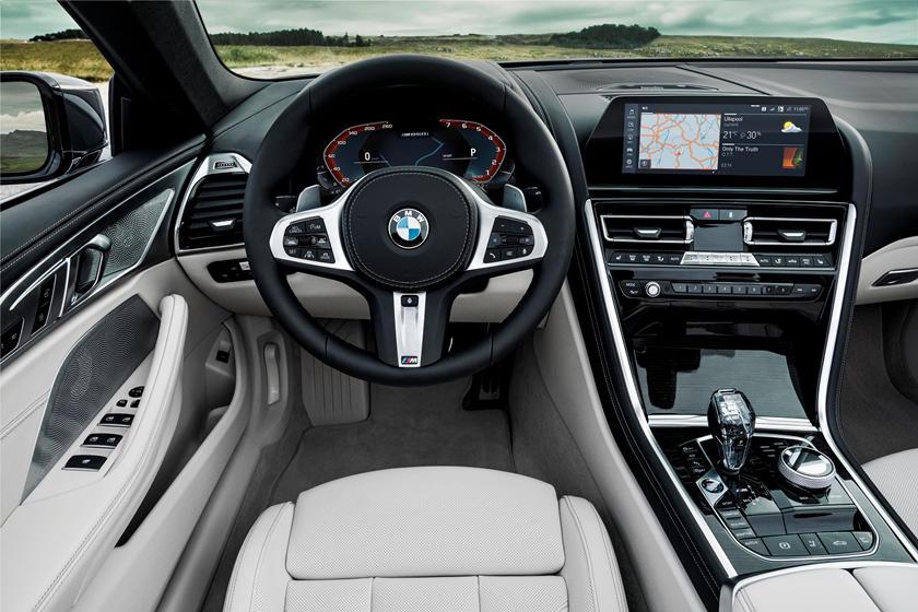 2020 Bmw 8 Series Convertible Interior