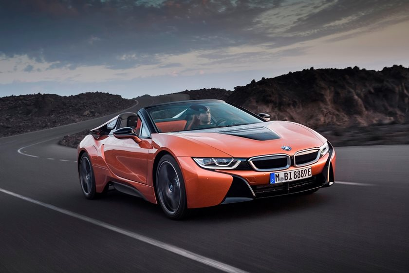 2019 Bmw I8 Roadster Review Trims Specs And Price Carbuzz