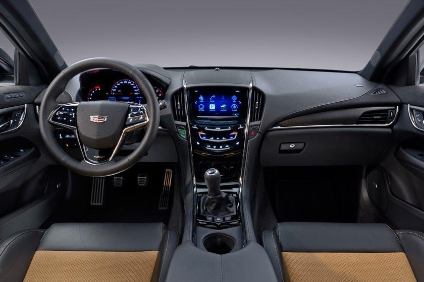 2019 Cadillac Ats V Coupe Interior Photos Carbuzz