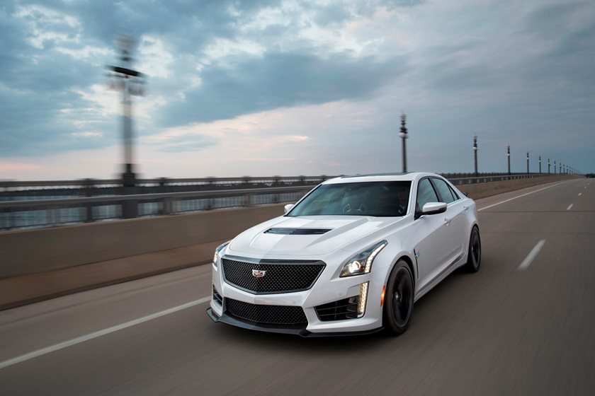 2019 Cadillac Cts V Sedan Review Trims Specs Price New Interior Features Exterior Design And Specifications Carbuzz