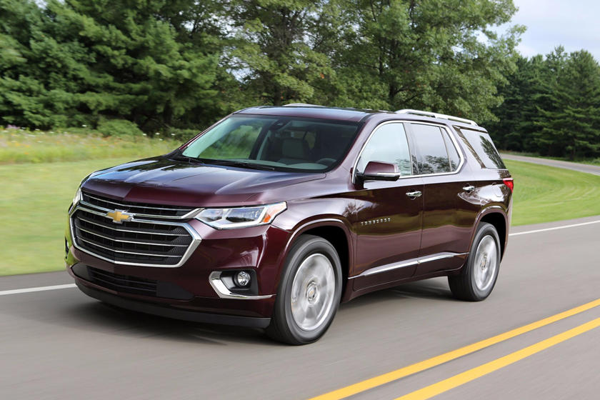 2019 Chevrolet Traverse Review Trims Specs Price New Interior Features Exterior Design And Specifications Carbuzz