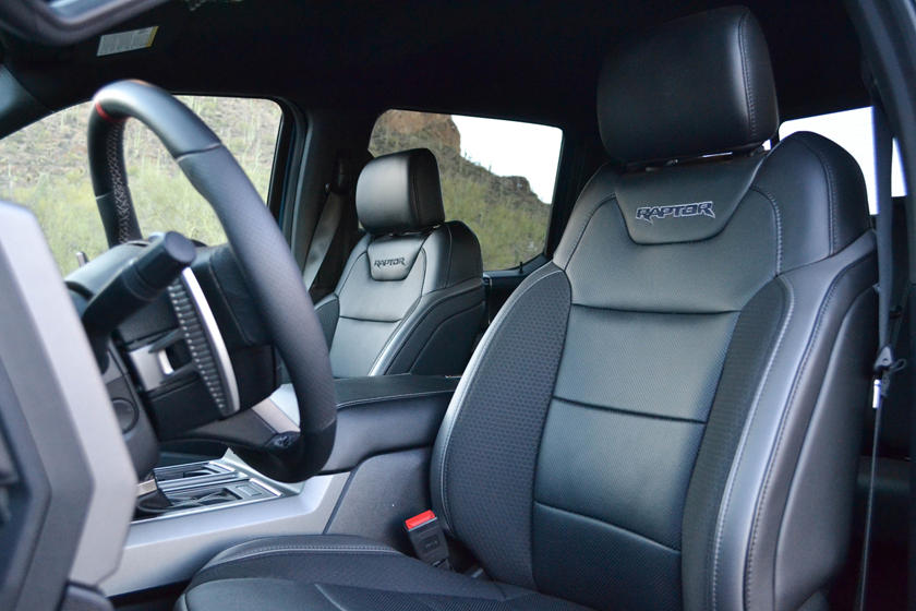 Ford Raptor Interior >> 2019 Ford F 150 Raptor Interior Photos Carbuzz