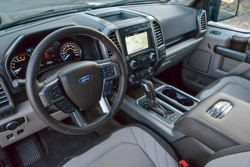 Ford F 150 Platinum Interior >> 2019 Ford F 150 Review Trims Specs And Price Carbuzz