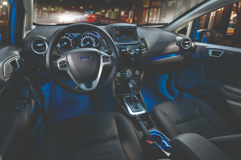 2019 Ford Fiesta Sedan Interior Photos Carbuzz