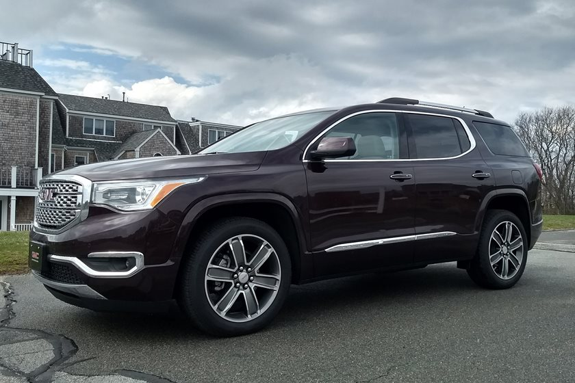 2018 GMC Acadia Denali: Review, Design, Price >> 2019 Gmc Acadia Review Trims Specs And Price Carbuzz