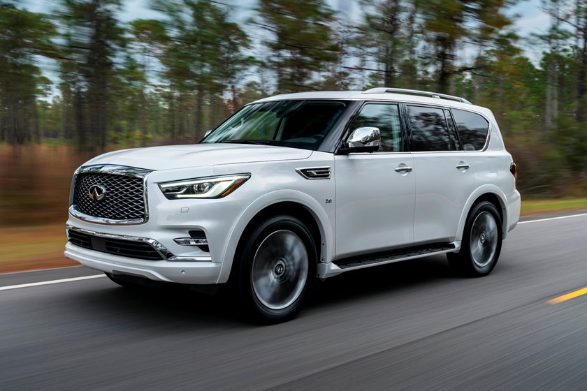 2019 Infiniti Qx80 Review Trims Specs And Price Carbuzz
