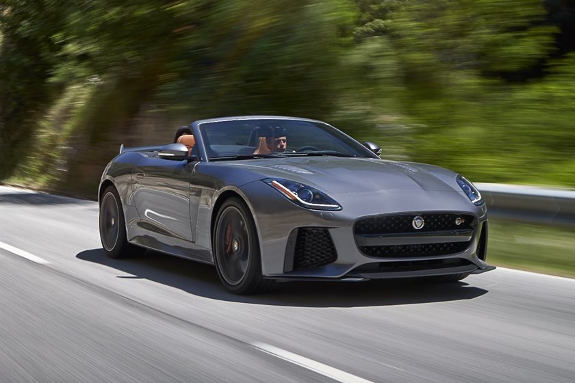 2019 Jaguar F Type Svr Convertible Review Trims Specs And