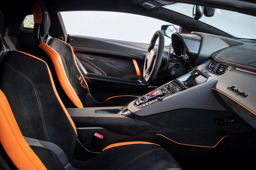 2019 Lamborghini Aventador SVJ Interior Photos