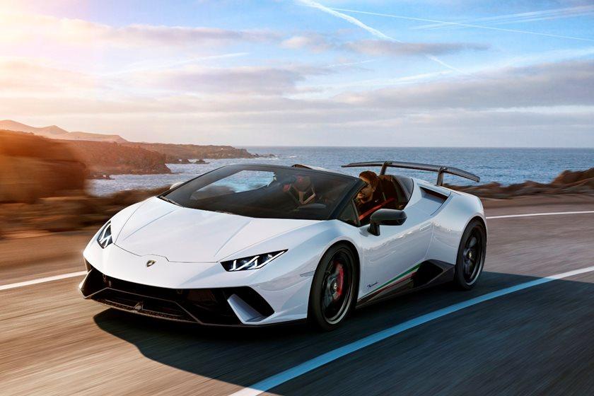 2019 Lamborghini Huracan Performante Spyder Review Trims Specs And