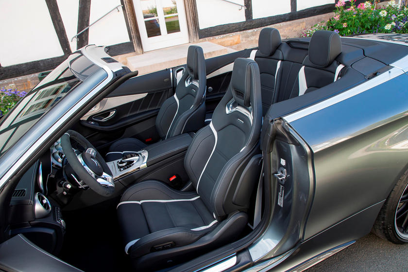 2019 Mercedes Amg C63 Cabriolet Interior Photos Carbuzz
