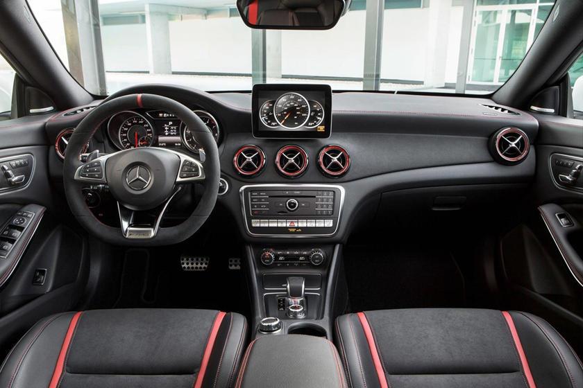 2019 Mercedes Amg Cla 45 Interior Photos Carbuzz