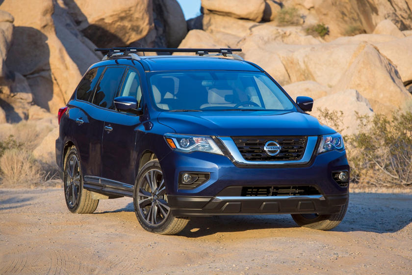 2019 Nissan Pathfinder Review Trims Specs And Price Carbuzz