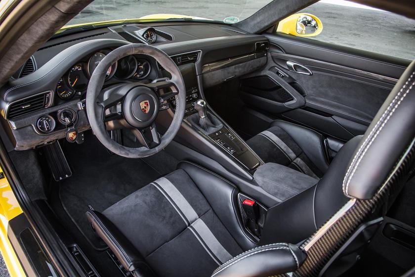 2019 Porsche 911 GT3 Interior Photos
