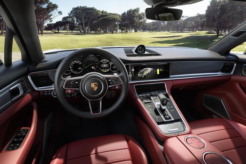 2019 Porsche Panamera E,Hybrid Sport Turismo Interior Photos