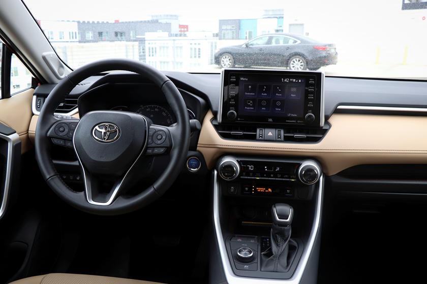 2019 Toyota Rav4 Hybrid Interior Photos Carbuzz