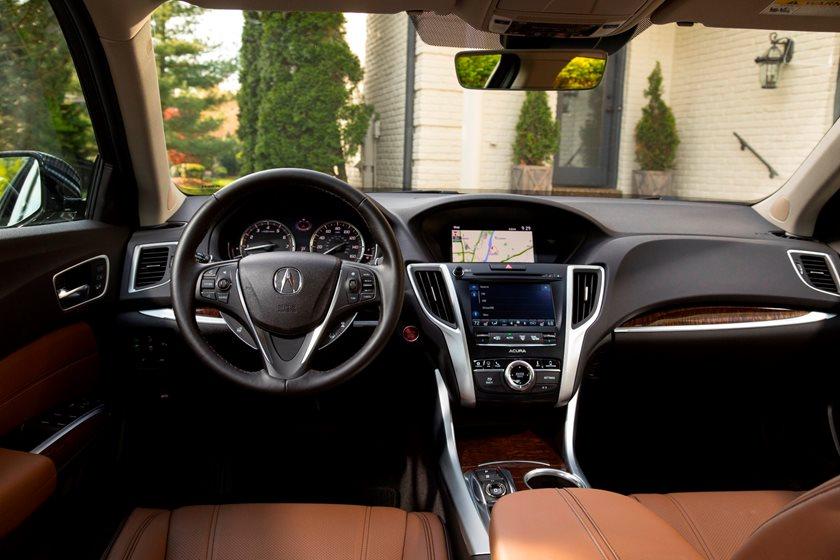 2020 Acura Tlx Interior Photos Carbuzz
