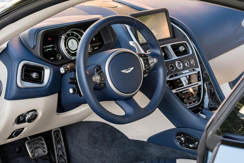 Aston Martin Db11 Coupe Interior Photos Carbuzz
