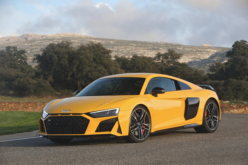 2020 Audi R8 Coupe Review Trims Specs Price New Interior Features Exterior Design And Specifications Carbuzz