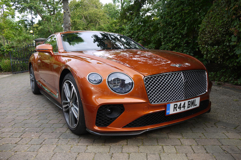 bentley continental gt hinta