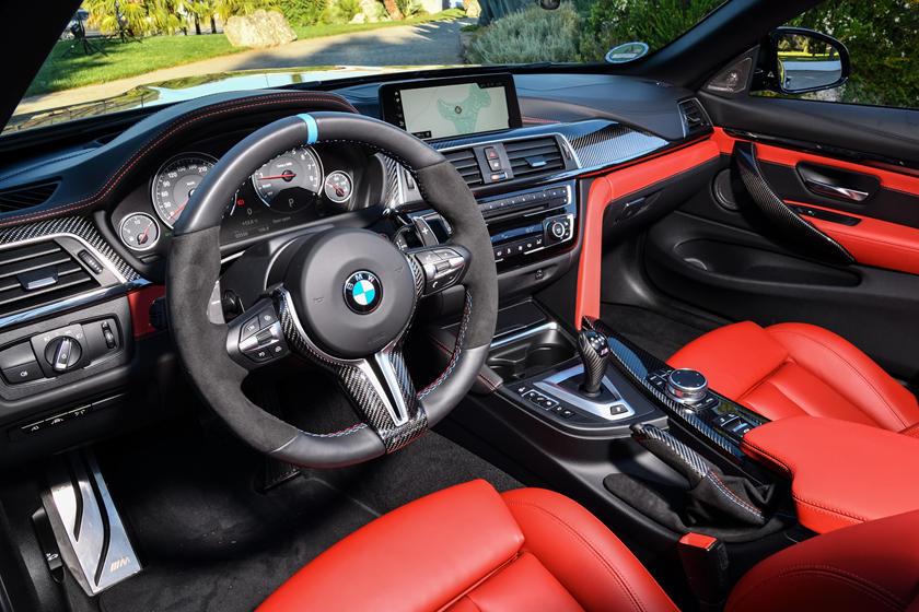 2020 Bmw M4 Convertible Interior