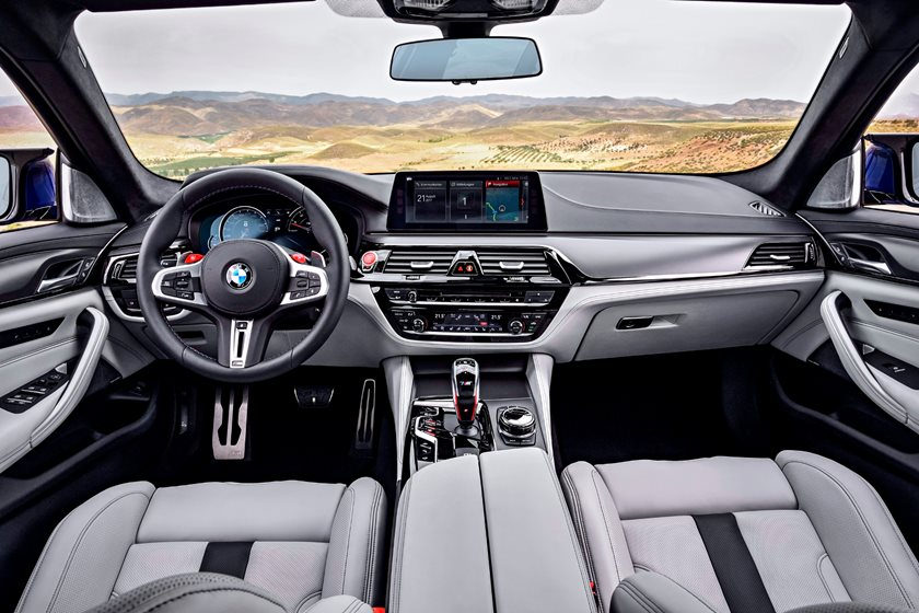 2020 Bmw M5 Red Interior