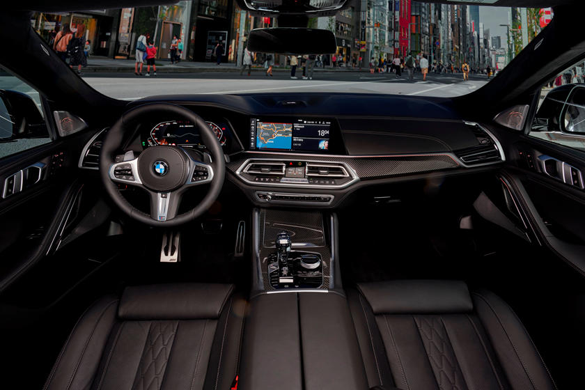 Bmw X6 2020 Black Interior