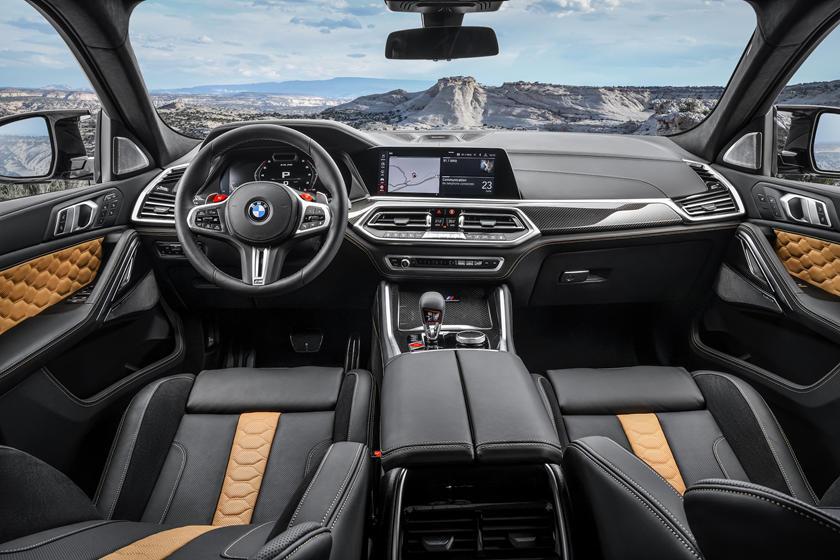 2020 BMW X6 M 2020 BMW X6 M Dashboard