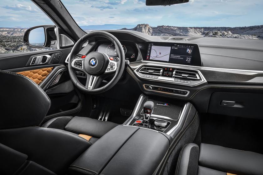 2020 BMW X6 M 2020 BMW X6 M Dashboard 1