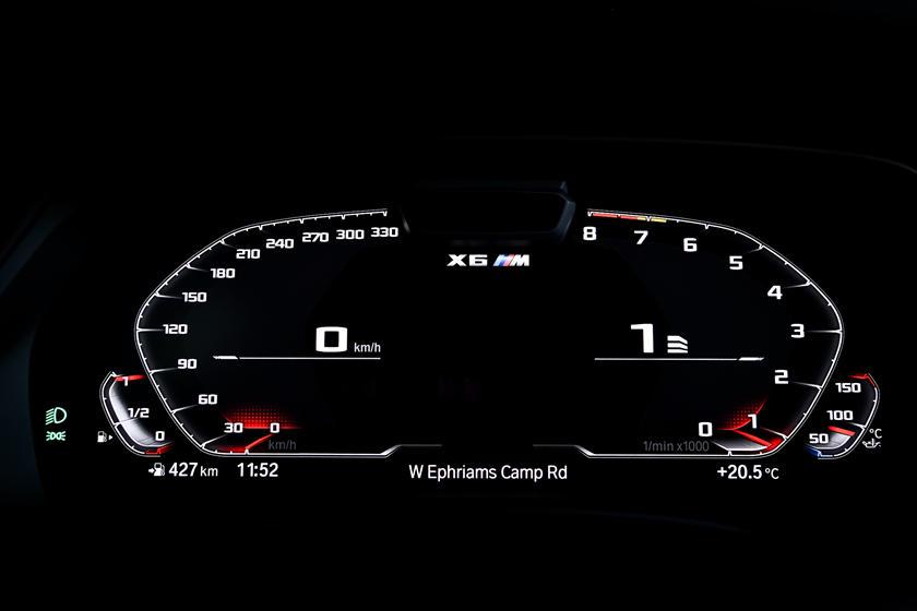 2020 BMW X6 M 2020 BMW X6 M Gauge Cluster