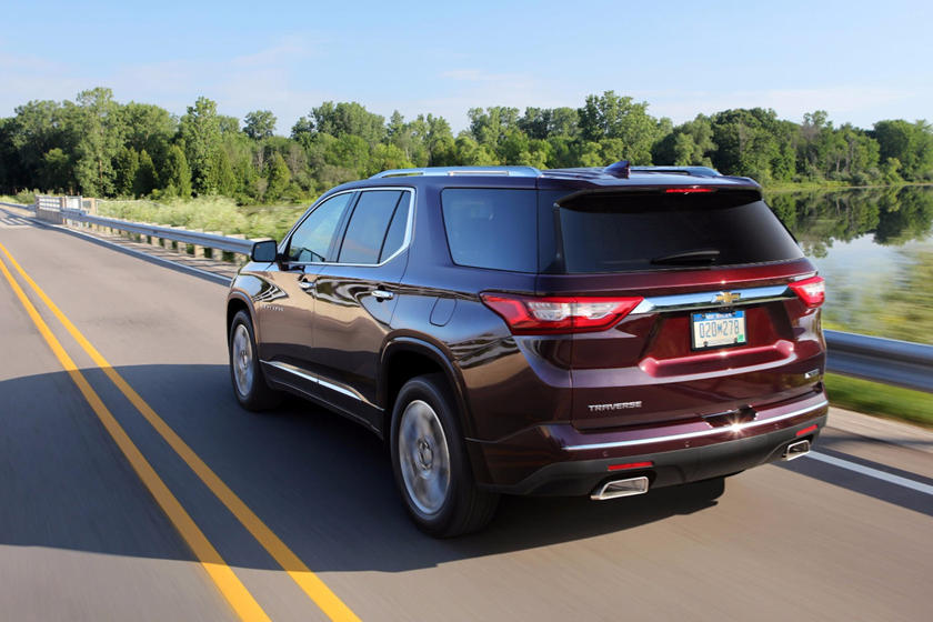 2020 Chevrolet Traverse Review Trims Specs And Price Carbuzz
