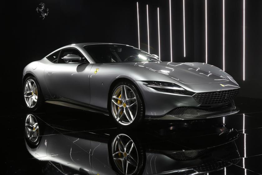 ferrari roma: review, trims, specs, price, new interior