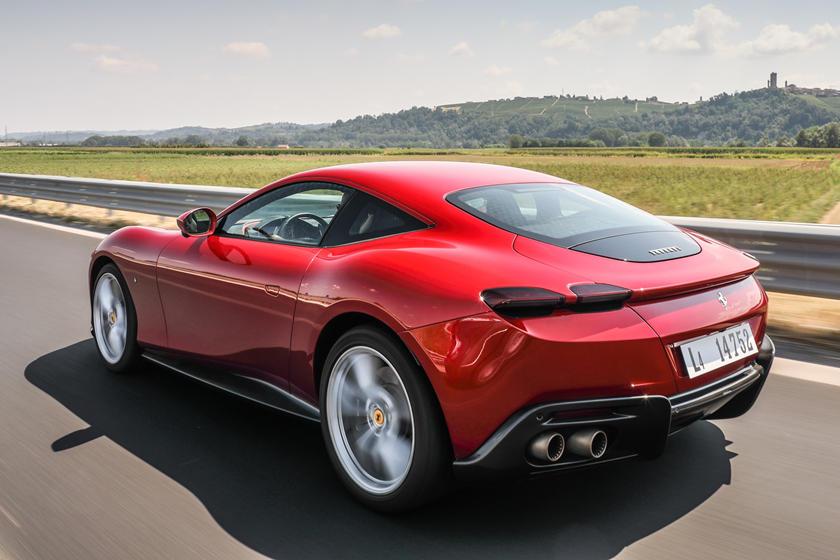 Ferrari Roma Review Trims Specs Price New Interior Features Exterior Design And Specifications Carbuzz