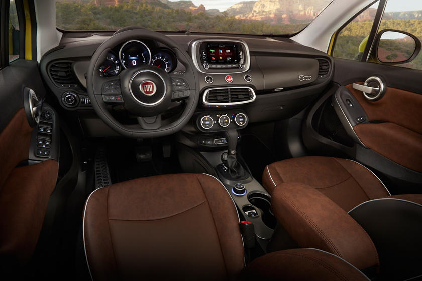 2020 Fiat 500x Interior Photos Carbuzz