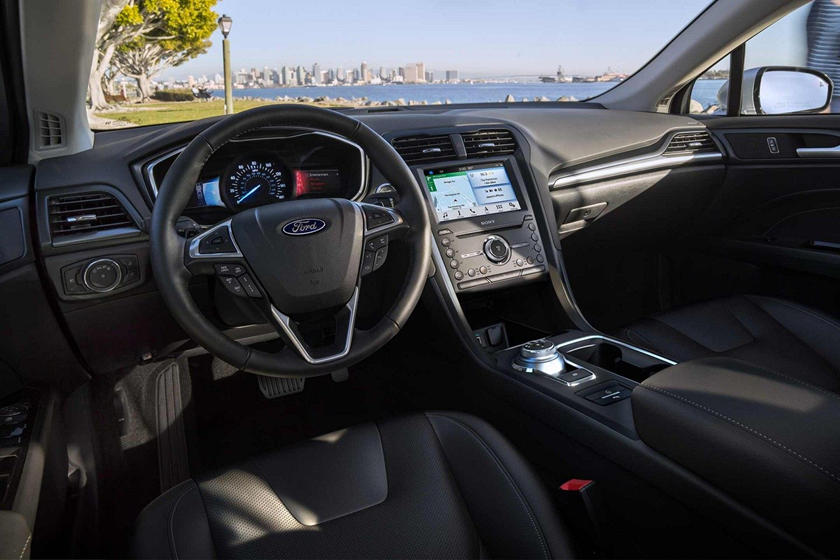 2020 Ford Fusion Steering Wheel Controls
