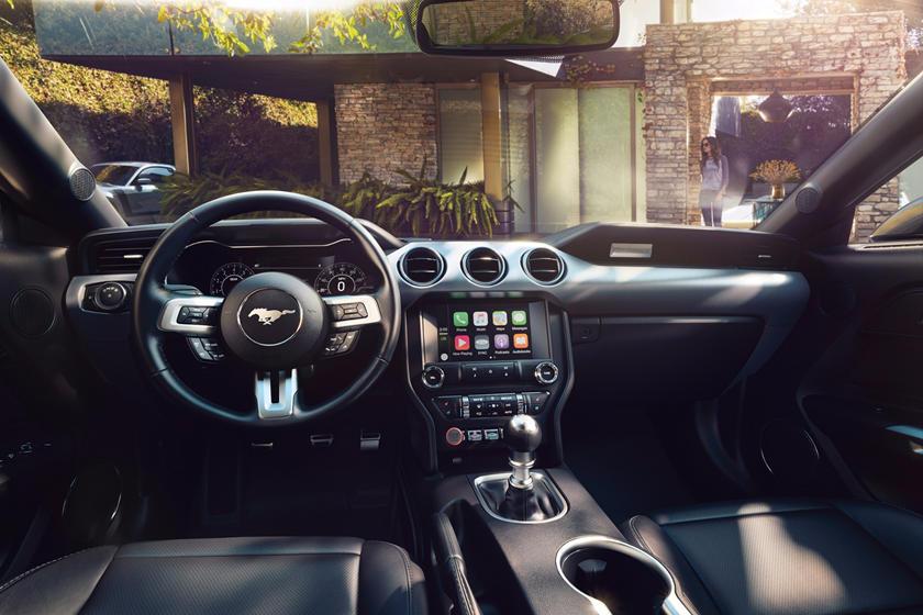 2020 Ford Mustang Coupe Interior Photos Carbuzz