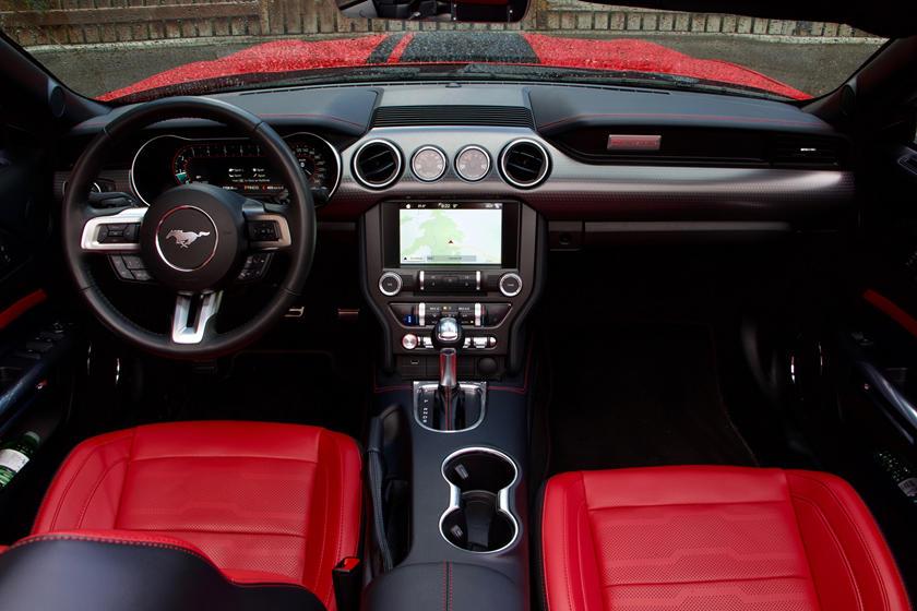 2020 ford mustang gt convertible interior photos carbuzz 2020 ford mustang gt convertible