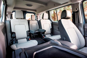 2020 Ford Transit Connect Passenger Wagon Interior Photos Carbuzz
