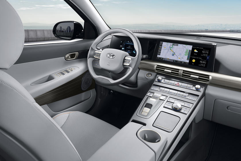 2020 Hyundai Nexo Interior Photos Carbuzz
