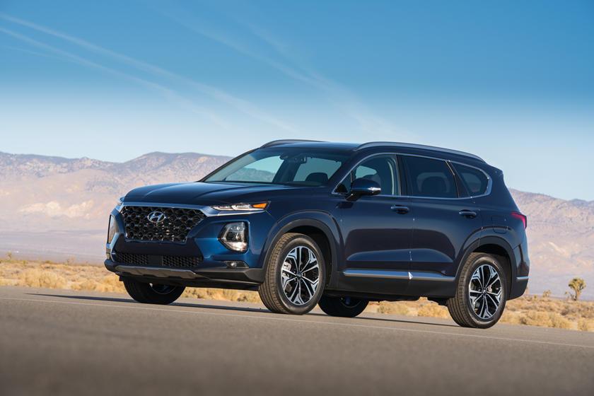 2020 Hyundai Santa Fe Review Trims Specs Price New Interior Features Exterior Design And Specifications Carbuzz