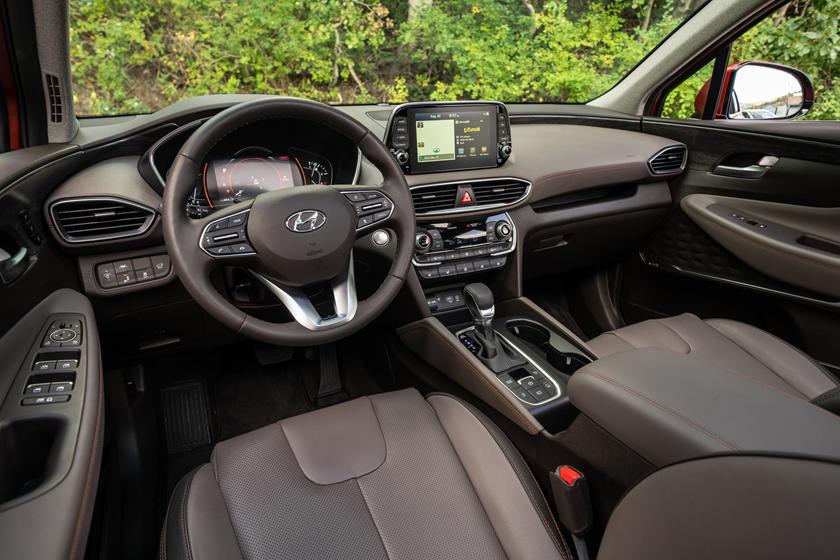 2020 Hyundai Santa Fe Interior Photos Carbuzz